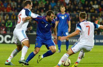 матч Молдова - Россия